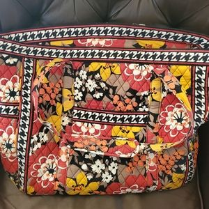 Quilted cloth tote
